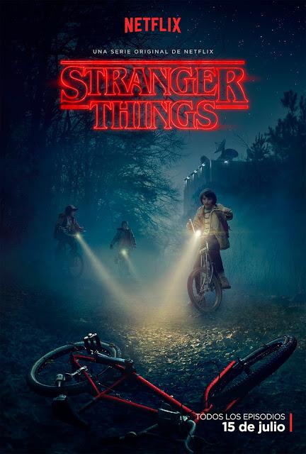 Tráiler y póster oficial de 'Stranger Things' con Wynona Ryder