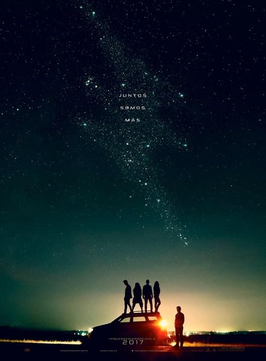 Teaser póster español de 'Power Rangers'
