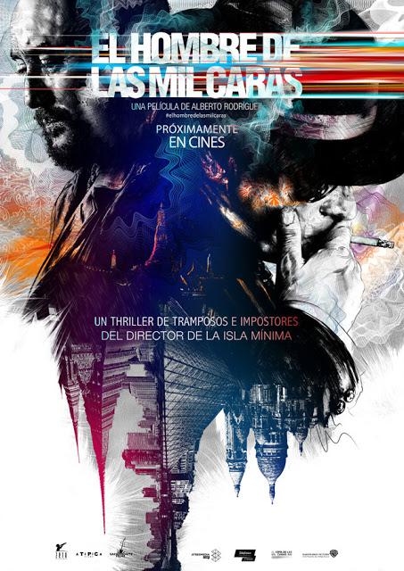 Teaser póster y tráiler de 'El hombre de las mil caras' de Alberto Rodríguez