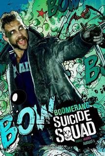 Pósters de personajes de 'Escuadrón Suicida' con estética cómic