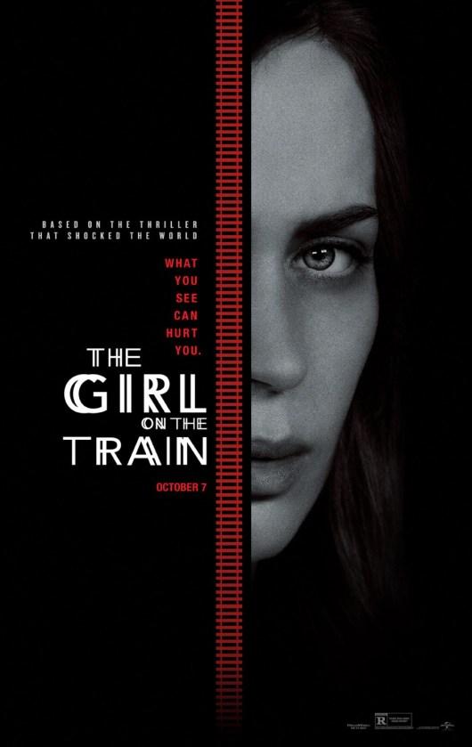 Nuevo póster internacional de 'La chica del tren' con Emily Blunt