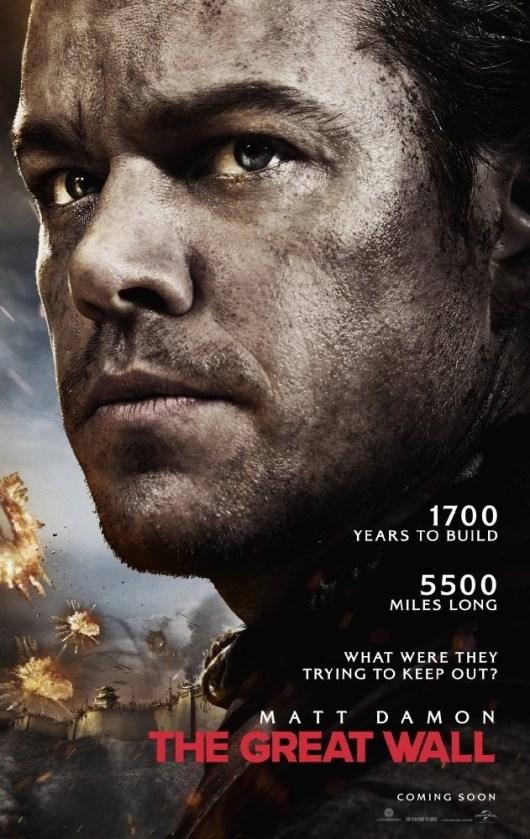 Póster y tráiler de la macroproducción 'La Gran Muralla' con Matt Damon