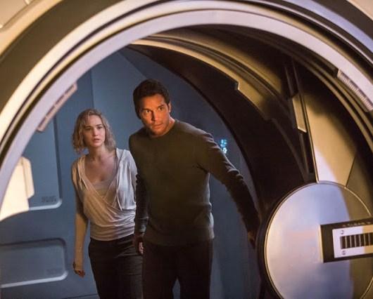 Nuevas imágenes de 'Passengers' con Chris Pratt y Jennifer Lawrence