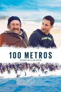 """Pósters de la película """"100 metros"""""""