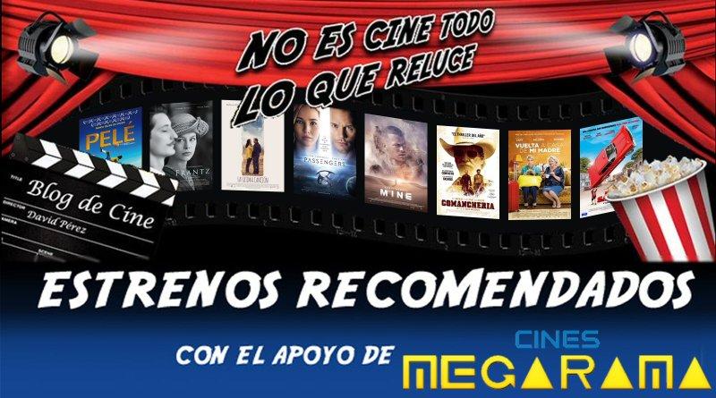 Vídeo avance y recomendaciones de la semana: 30 de Diciembre de 2016