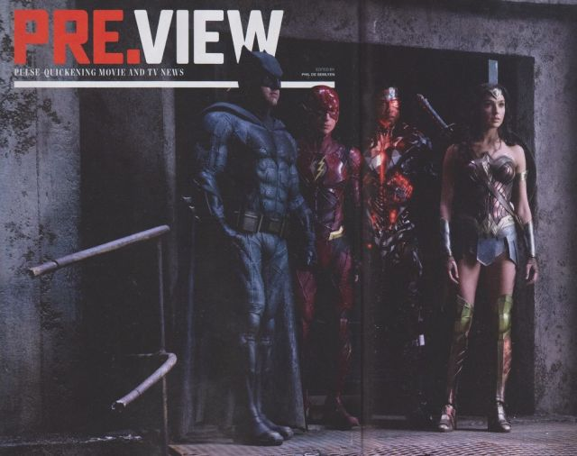 'La Liga de la Justicia': Nueva foto de Batman, Wonder Woman, Flash y Cyborg