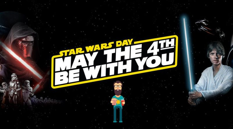 Día Star War May the 4th be with you