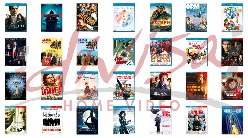Lanzamientos de mayo en DVD y Blu-ray de Divisa Home Video