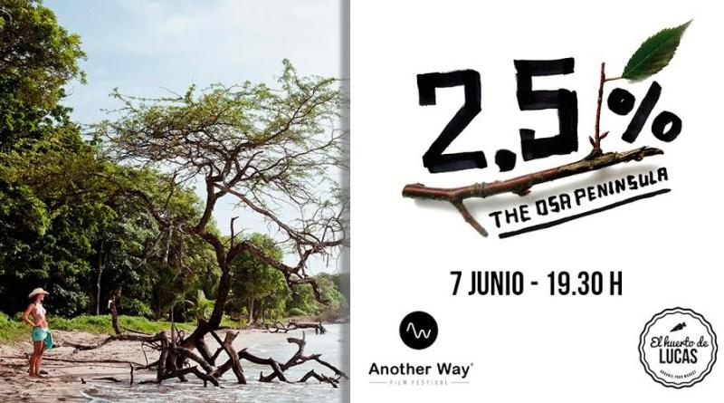 2,5% la península de Osa (another miércoles)