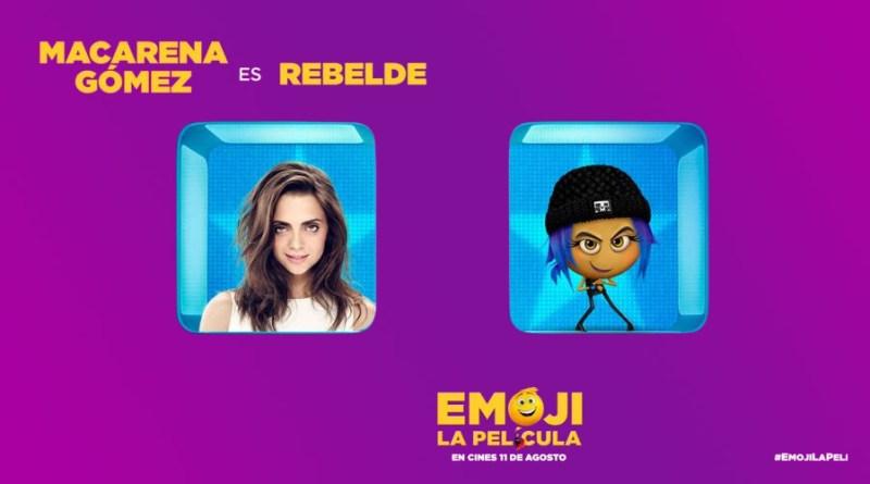 Emoji, la película (Macarena Gómez)