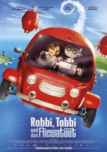 """Pósters de la película """"Robby y Tobby en el viaje fantástico"""""""