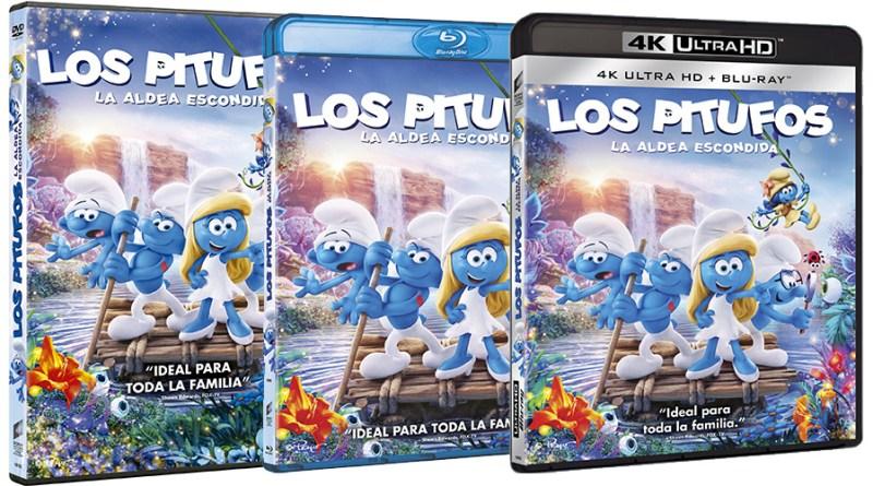 Los Pitufos: La aldea escondida (Blu-ray)