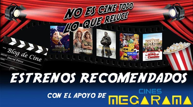 Vídeo avance y recomendaciones de la semana: 11 de agosto de 2017