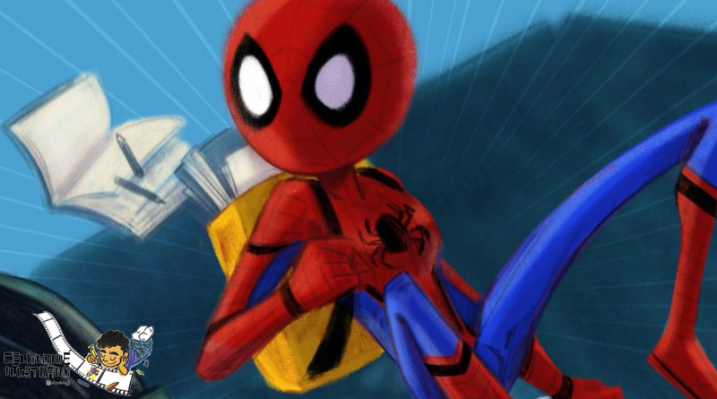 Celuloide Ilustrado: 'Spider-Man: Homecoming'