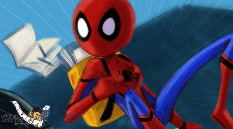 Celuloide Ilustrado: 'Spider-Man: Homecoming'