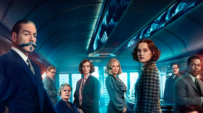 'Asesinato en el Orient Express': Segundo tráiler y póster de la adaptación de la novela de Agatha Christie