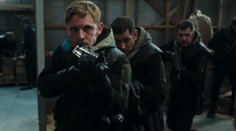 '6 días': Tráiler del thriller de acción con Jamie Bell y Mark Strong