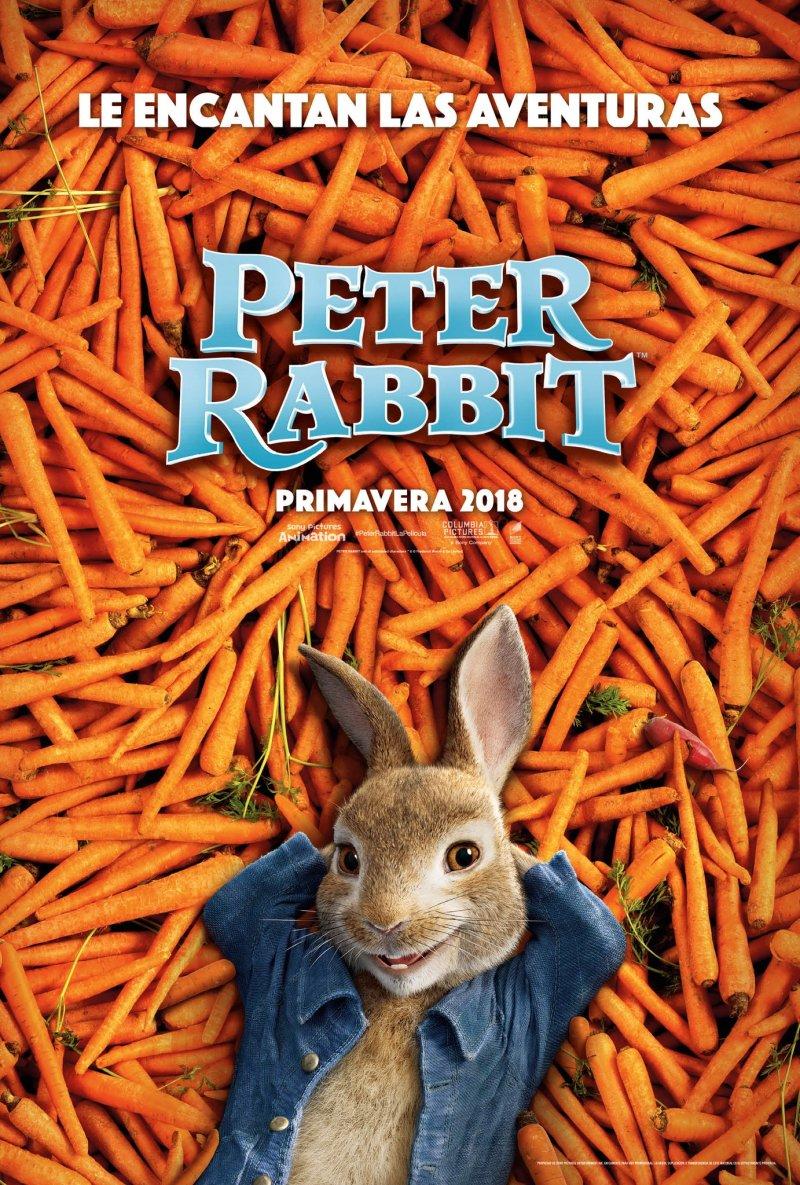 'Peter Rabbit': Tráiler y póster de la primera adaptación del querido clásico inglés