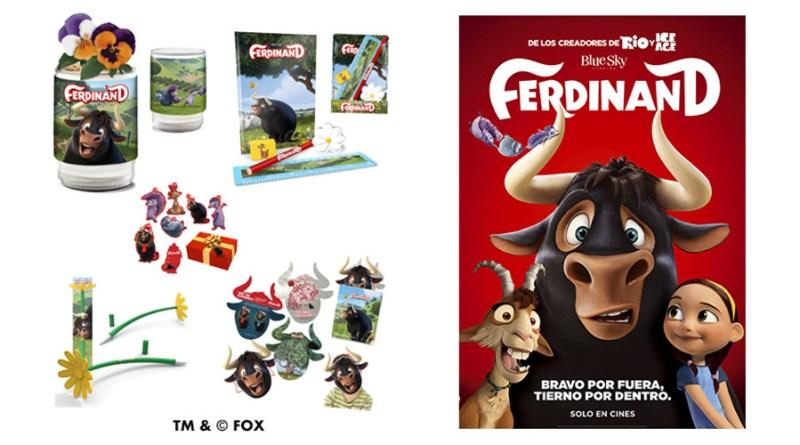 Sorteo 'Ferdinand': Tenemos packs de merchandising para vosotros