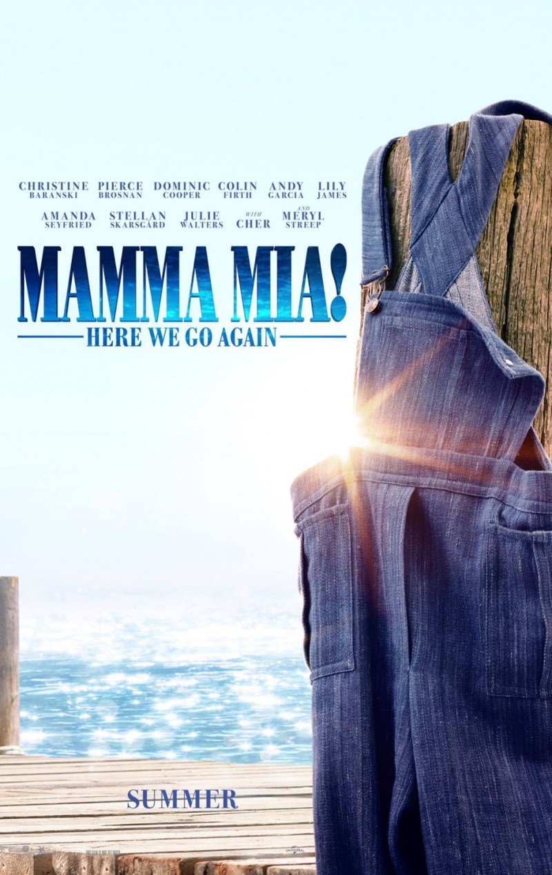 'Mamma Mia: Here we go again!': Primer póster de la secuela de '¡Mamma Mía!'