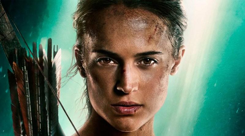 'Tomb Raider': Nuevo póster de Alicia Vikandercomo Lara Croft