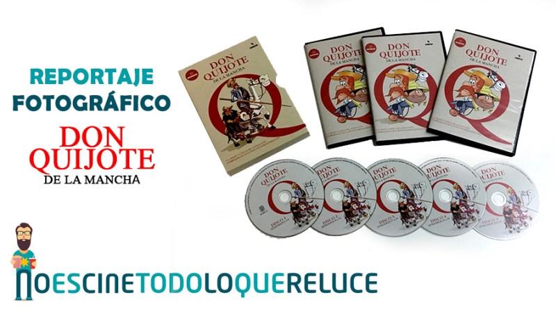 'Don Quijote de la Mancha': Reportaje fotográfico y detalles de la edición DVD