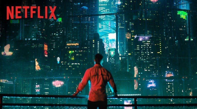 'Altered Carbon': Vídeo especial detrás de las cámaras