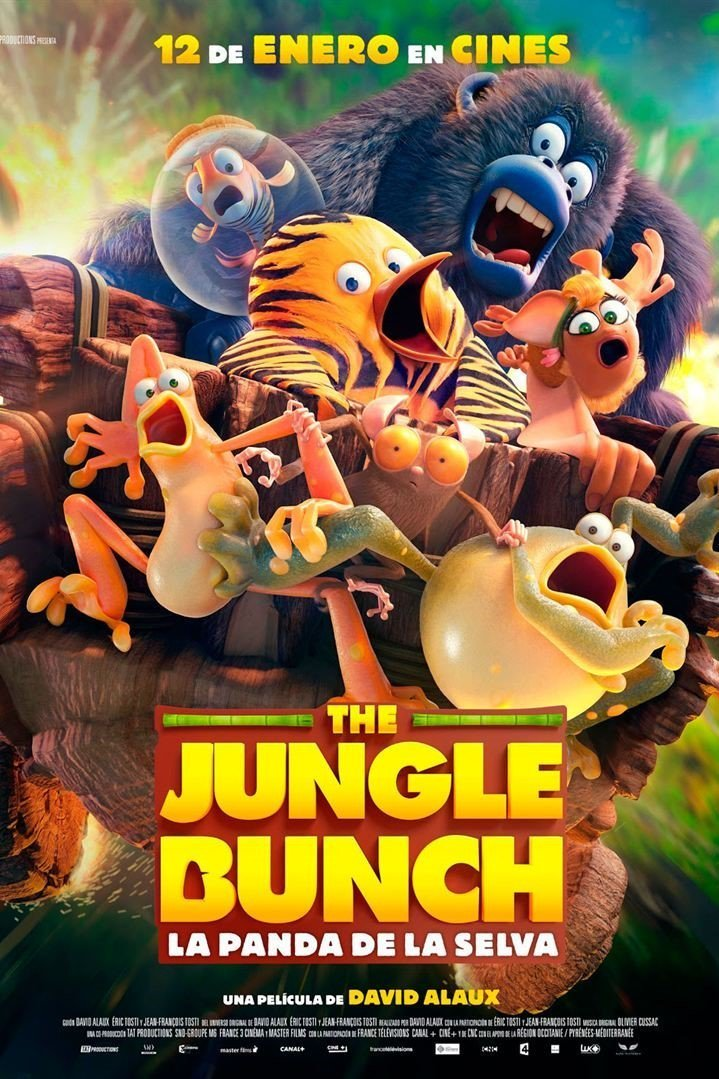 "Pósters de la película ""The Jungle Bunch. La panda de la selva"""