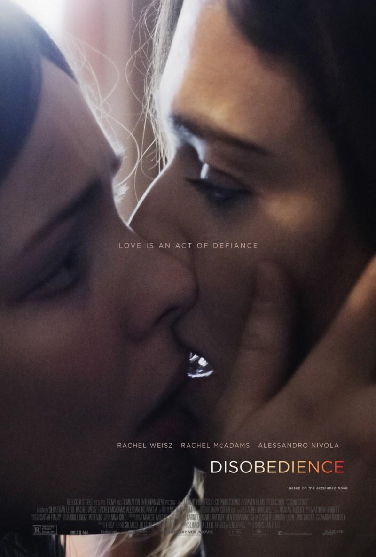 'Disobedience': Tráiler y póster de lo nuevo de Sebastian Lelio con Rachel Weisz y Rachel McAdams