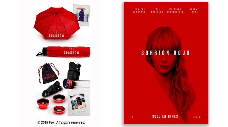 Sorteo 'Gorrión Rojo': Tenemos packs de merchandising de la película para vosotros