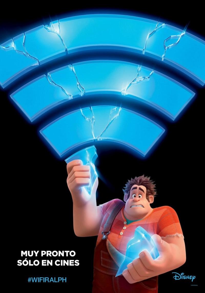 'Ralph rompe Internet': Y prueba de ello es el nuevo póster