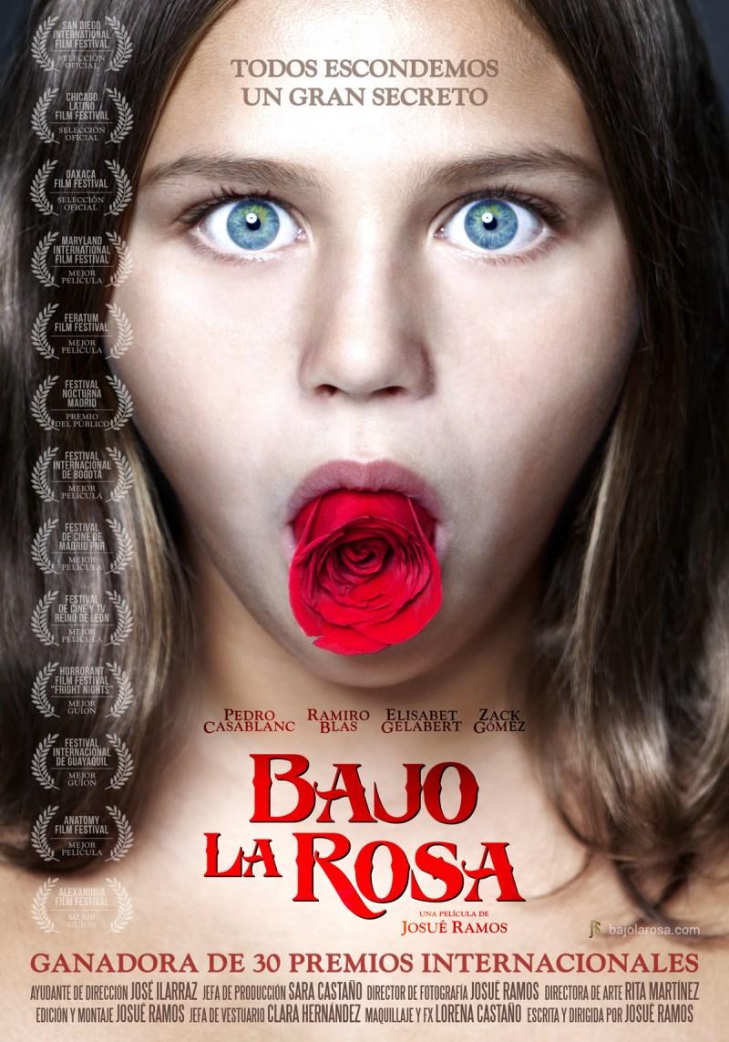 'Bajo la Rosa': Póster y tráiler del thriller de intriga de Josué Ramos