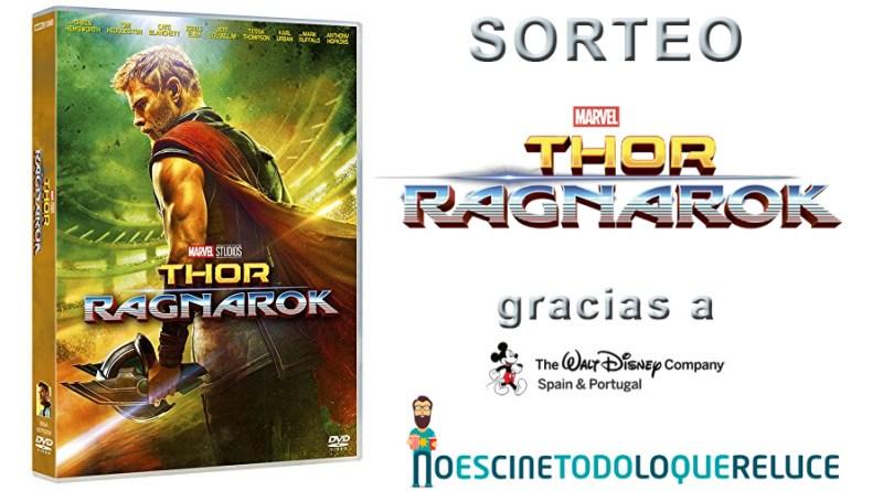 Sorteo 'Thor: Ragnarok': Tenemos para vosotros 3 copias de la película