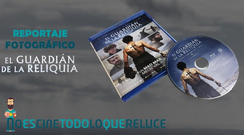 'El guardián de la reliquia': Reportaje fotográfico y análisis de la edición Blu-ray