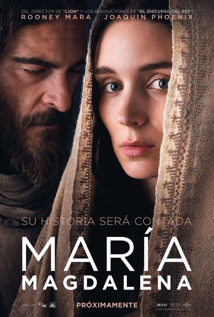 """Pósters de la película """"María Magdalena"""""""