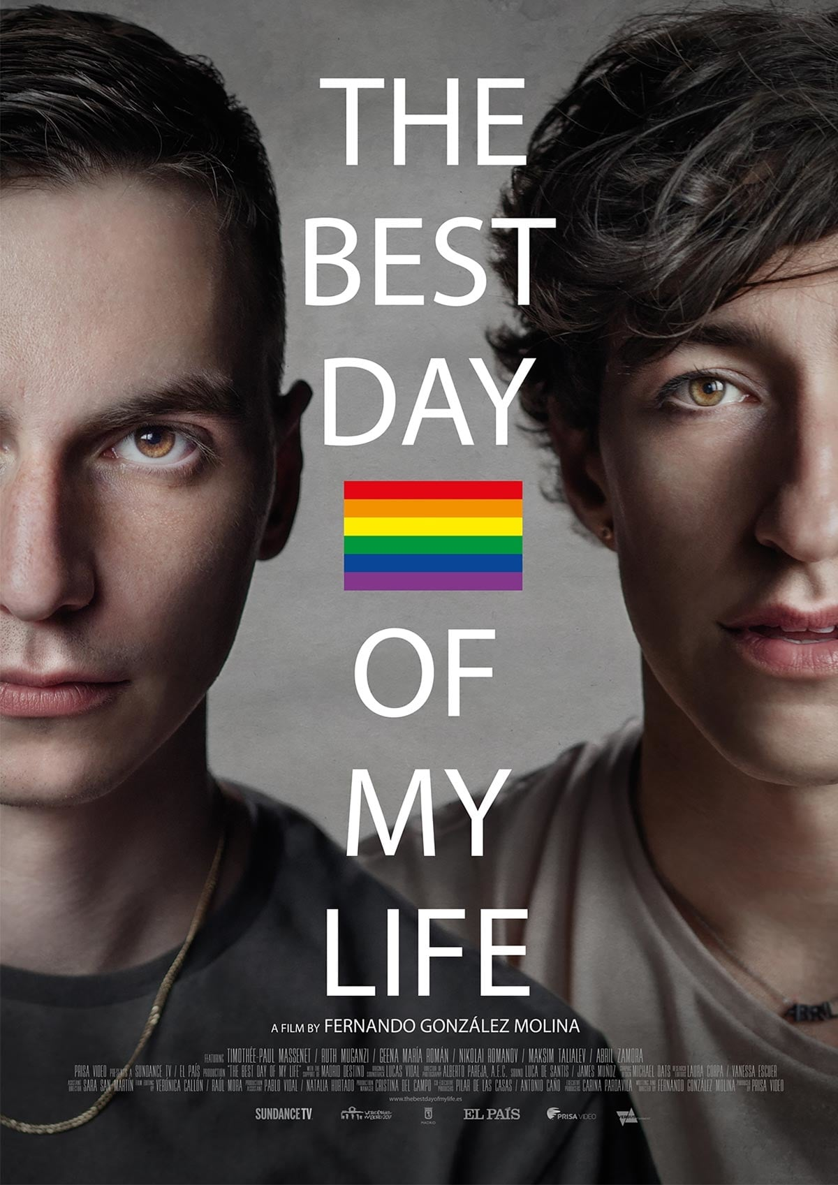 "Pósters de la película ""The best day of my life"""