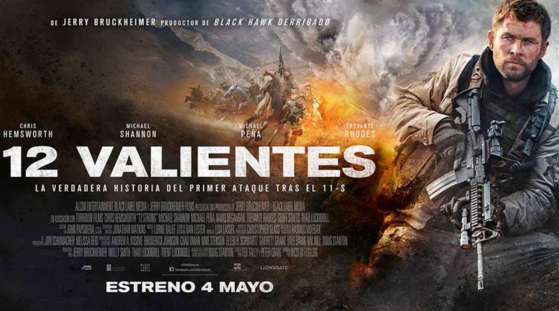 Sorteo '12 valientes': Tenemos packs de merchandising de la película