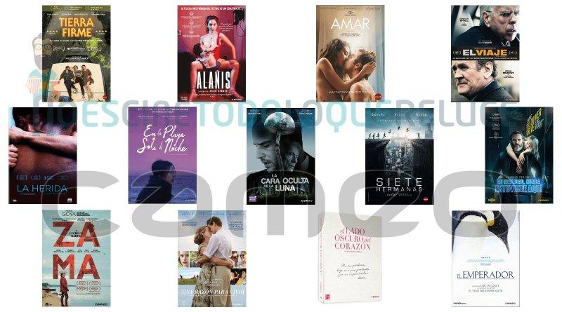 Lanzamientos de abril en DVD y Blu-ray de Cameo