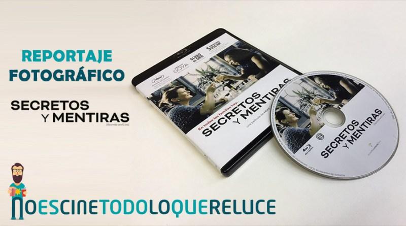 'Secretos y mentiras': Reportaje fotográfico y análisis de la edición Blu-ray