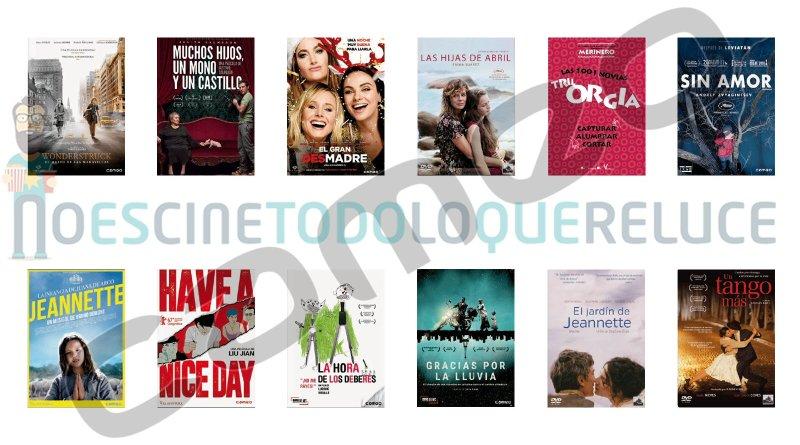 Lanzamientos de mayo en DVD y Blu-ray de Cameo