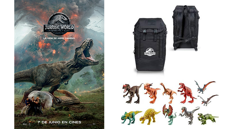 Sorteo 10º aniversario (X): 'Jurassic World: el reino caído'
