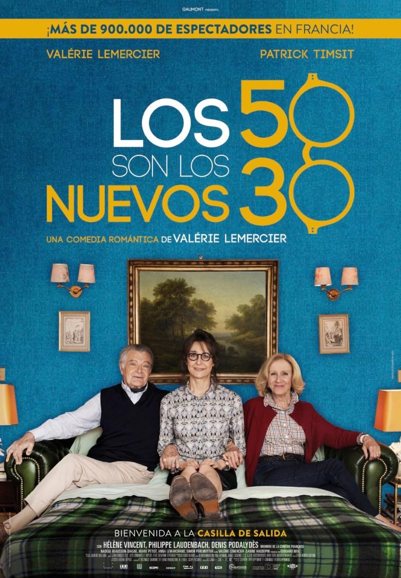 'Los 50 son los nuevos 30': Tráiler español de una de las comedias francesas más exitosas de la temporada