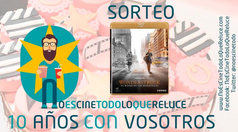 Concurso 10º aniversario (I): 'Wonderstruck: El museo de las maravillas' en Blu-ray gracias a Cameo