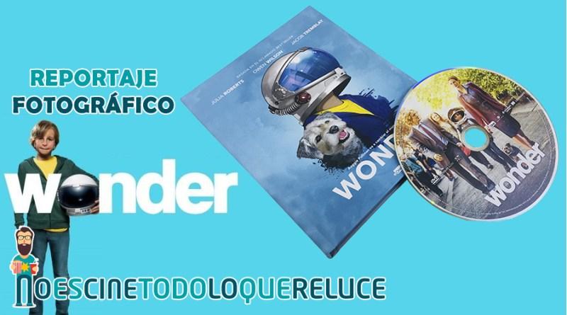 'Wonder': Reportaje fotográfico y detalles de la edición digibook DVD
