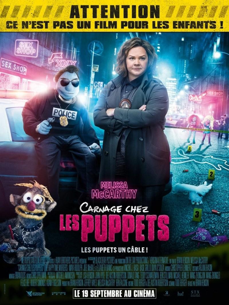 '¿Quién está matando a los moñecos?': Póster francés de los teleñecos más adultos
