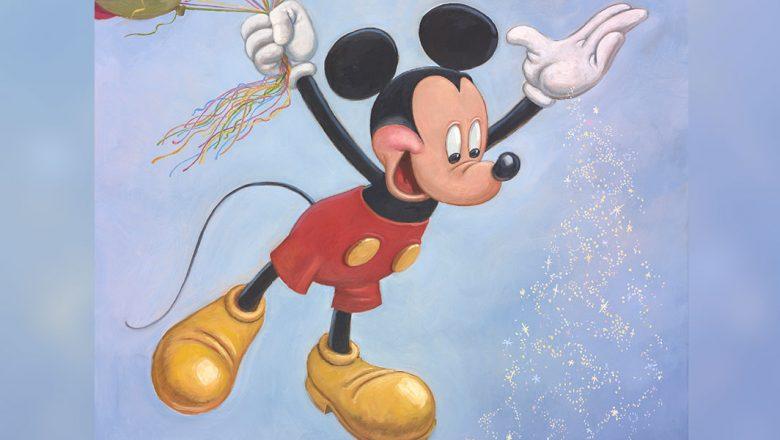 Mickey Mouse estrena retrato oficial con motivo de su 90 cumpleaños