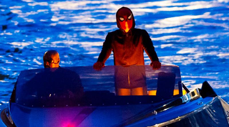 'Spider-Man: Lejos de casa': Spider-Man se deja ver en Venecia con Nick Fury
