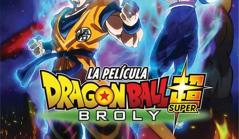 "Pósters de la película ""Dragon Ball Super: Broly"""