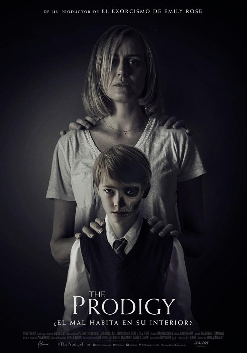'The Prodigy: Póster y tráiler de la nueva película de terror de Nicholas McCarthy