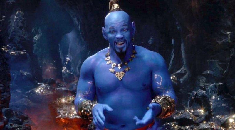 'Aladdin': Un nuevo avance nos presenta a Will Smith como el Genio azul